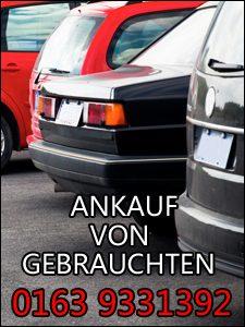 Ankauf von Gebrauchtwagen mit vielen Mängeln