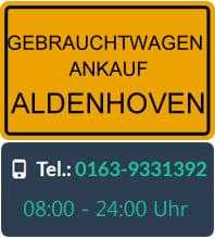 Gebrauchtwagen Ankauf Aldenhoven