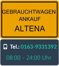 Gebrauchtwagen Ankauf Altena