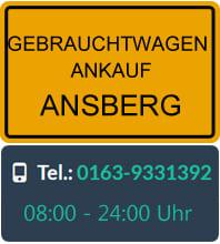 Gebrauchtwagen Ankauf Arnsberg