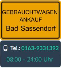 Gebrauchtwagen Ankauf Bad Sassendorf