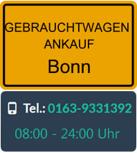 Gebrauchtwagen Ankauf Bonn