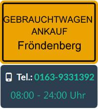 Gebrauchtwagen Ankauf Fröndenberg