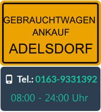 Gebrauchtwagen Ankauf Adelsdorf