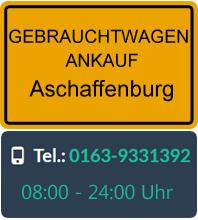 Gebrauchtwagen Ankauf in Aschaffenburg