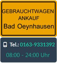 Gebrauchtwagen Ankauf Bad Oeynhausen