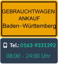 Gebrauchtwagen Ankauf in Baden-Württemberg