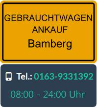 Gebrauchtwagen Ankauf in Bamberg