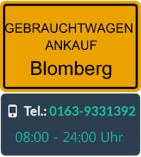Gebrauchtwagen Ankauf Blomberg
