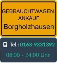 Gebrauchtwagen Ankauf Borgholzhausen