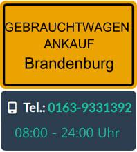 Gebrauchtwagen Ankauf in Brandenburg