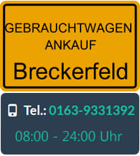 Gebrauchtwagen Ankauf Breckerfeld