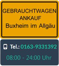 Gebrauchtwagen Ankauf in Buxheim im Allgäu