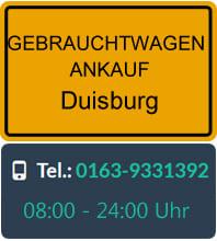Gebrauchtwagen Ankauf Duisburg