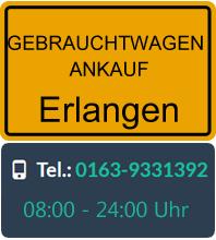 Gebrauchtwagen Ankauf in Erlangen