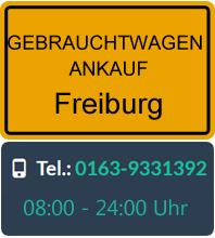 Gebrauchtwagen Ankauf in Freiburg
