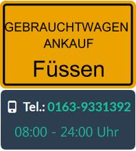 Gebrauchtwagen Ankauf in Füssen