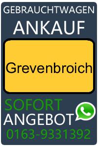 Gebrauchtwagen Ankauf Grevenbroich