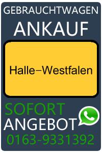 Gebrauchtwagen Ankauf Halle-Westfalen
