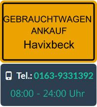 Gebrauchtwagen Ankauf Havixbeck