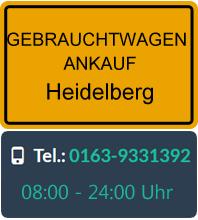 Gebrauchtwagen Ankauf in Heidelberg