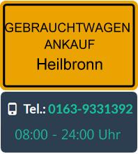 Gebrauchtwagen Ankauf in Heilbronn