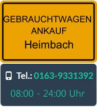 Gebrauchtwagen Ankauf Heimbach