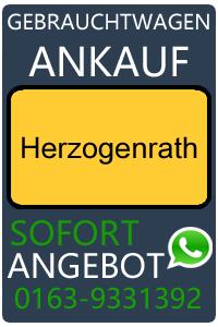 Gebrauchtwagen Ankauf Herzogenrath