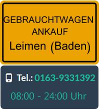 Gebrauchtwagen Ankauf in Leimen (Baden)