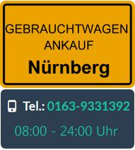 Gebrauchtwagen Ankauf in Nürnberg