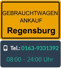 Gebrauchtwagen Ankauf in Regensburg
