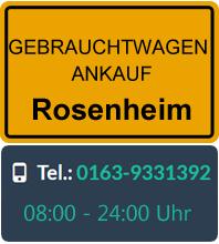 Gebrauchtwagen Ankauf in Rosenheim