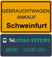 Gebrauchtwagen Ankauf in Schweinfurt