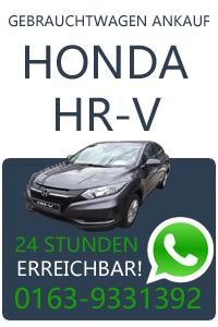 Honda HR-V Gebrauchtwagen Ankauf
