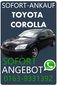 Autoankauf Toyota Corolla