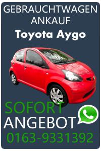 Wir kaufen Dein Toyota Aygo