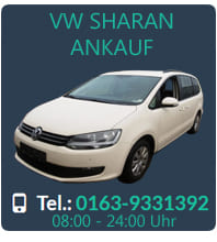 vw sharan gebrauchtwagen ankauf 100 bestpreis sofort. Black Bedroom Furniture Sets. Home Design Ideas